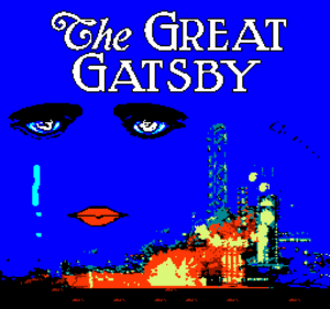 (2) The Great Gatsby title screen