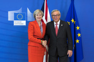 The British Prime Minister has attended a European Union Council meeting in Brussels. It is the first time Theresa may has attended the European Council since becoming Prime Minister. The Council of the EU brings together EU leaders at least four times a year. It is where national minister from each EU country meet to adopt laws and coordinate policies.